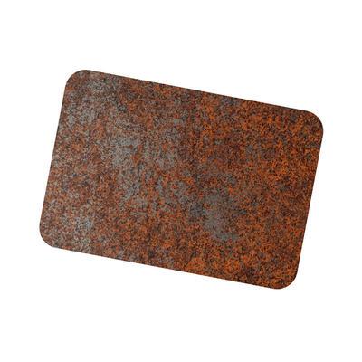 Coil Coat Solid Aluminum Heavy Rusted Corten Finish
