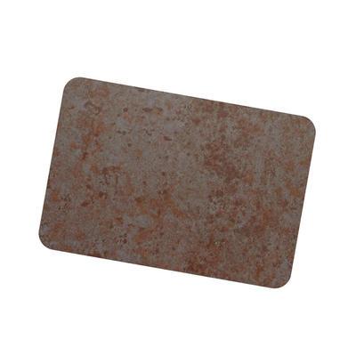 Coil Coat Solid Aluminum Slight Rusted Corten Finish