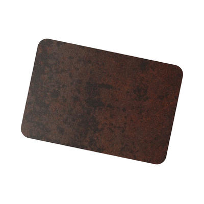 Coil Coat Solid Aluminum Black Corten Finish