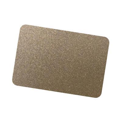 Coil Coat Solid Aluminum Bronze Metallic Color