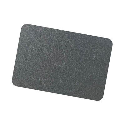 Coil Coat Solid Aluminum Dark Grey Metallic Color