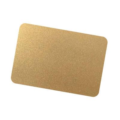 Coil Coat Solid Aluminum Gold Metallic Color